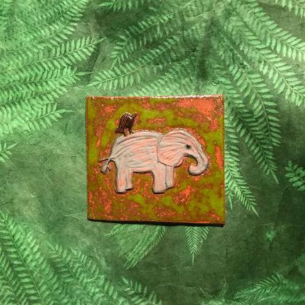 Fliese Motiv Elefant