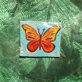 Fliese Motiv Schmetterling