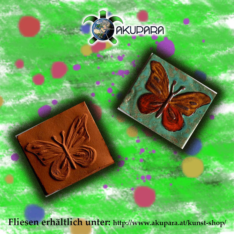 Fliesenmotiv Schmetterling