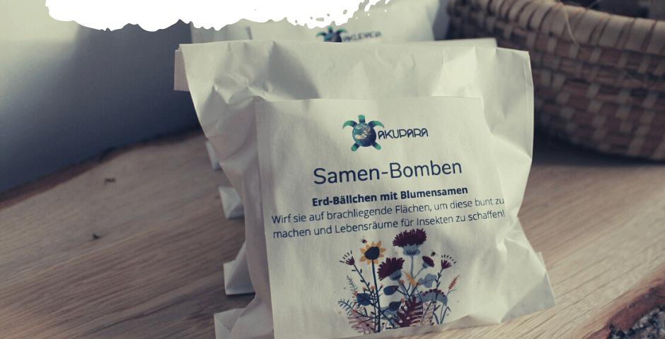 Samen-Bomben Neu im Sortiment