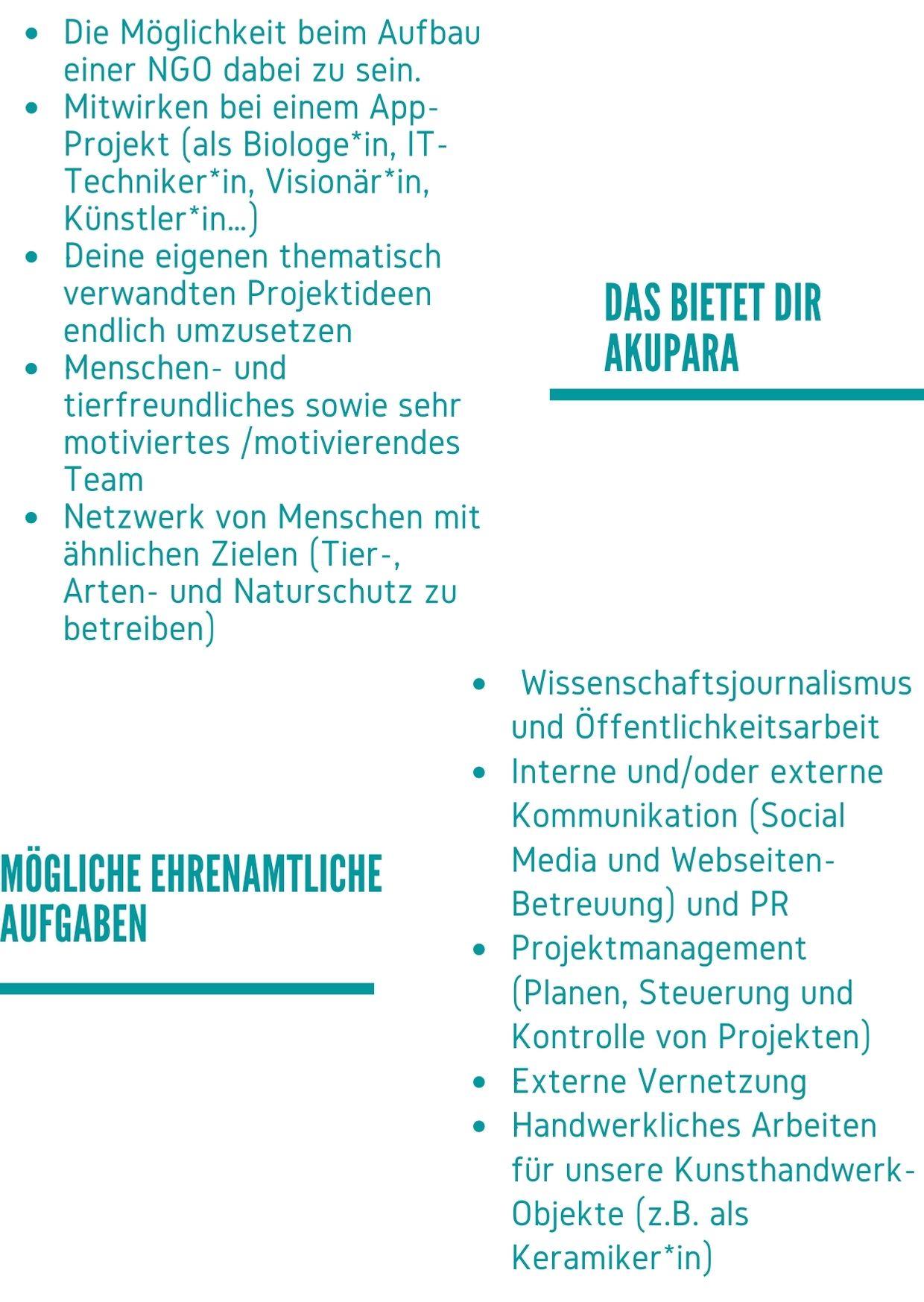 AKUPARA-Tierschutz-Artenschutz-Naturschutz-Oesterreich-Mitglied-werden-Stellenauschreibung