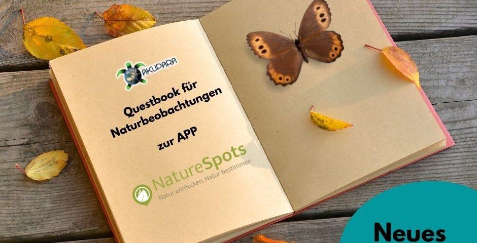 Questbook für Naturbeobachtungen Titelbild